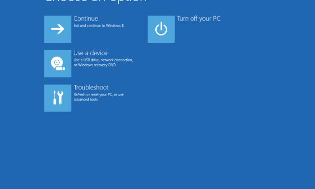 Gufungurira Windows 8 Muri SAFEMODE