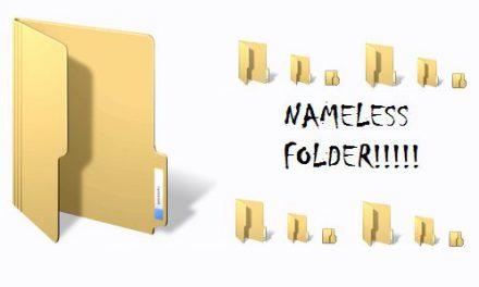 """Kora """"Folder"""" itagira izina kuri mudasobwa"""
