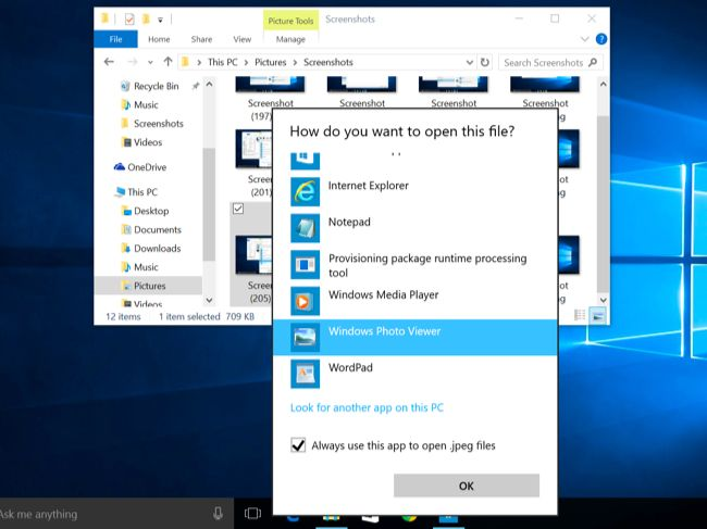 Koresha Windows Photo viewer ureba amafoto kuri Windows 10 | Isange
