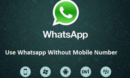 Koresha Whatsapp nta nimero
